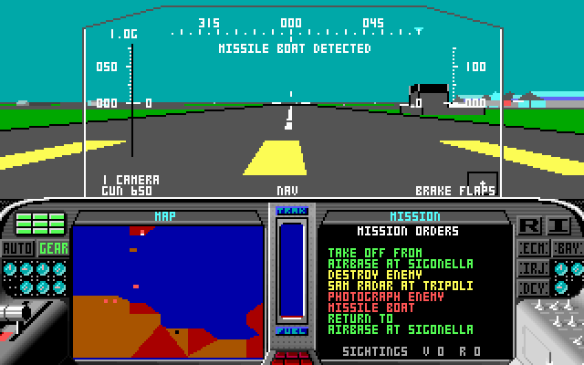 Microprose F-19 Stealth Fighter