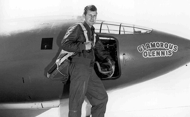 Сhuck Yeager — Bell X-1 'Glamorous Glennis'